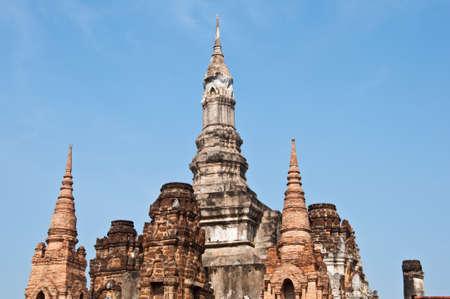 wat mahathat sukhothai history park photo