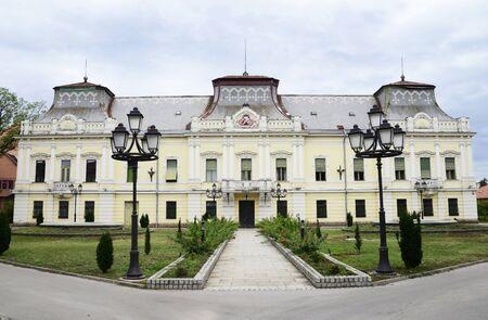 episcopal: vrsac city serbia episcopal residence landmark architecture