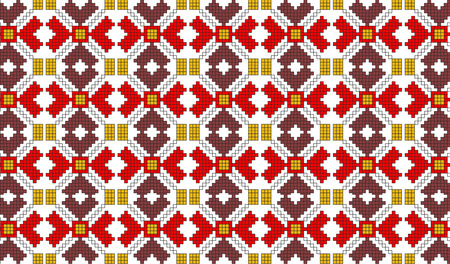 popular: very big size romanian popular motifs pattern