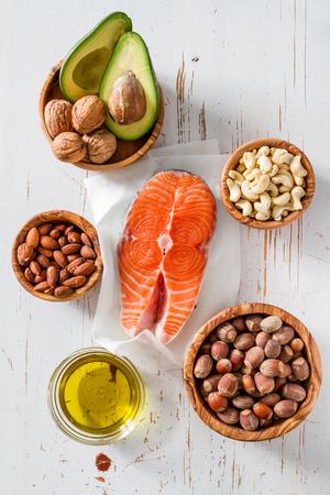gordos: Selecci�n de fuentes de grasas saludables, el espacio de copia