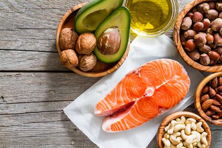 buena salud: Selección de fuentes de grasas saludables, el espacio de copia