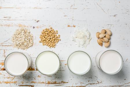 Non dairy milk concept Stock Photo