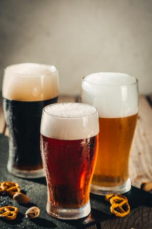 Different types of beer 写真素材