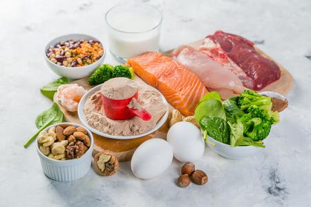 ベジタリアンおよび動物由来タンパク質源の選択