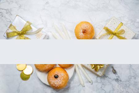 Symbols of hanukkah
