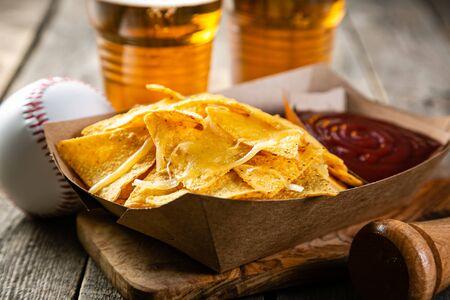 Nachos served as street, stadium food