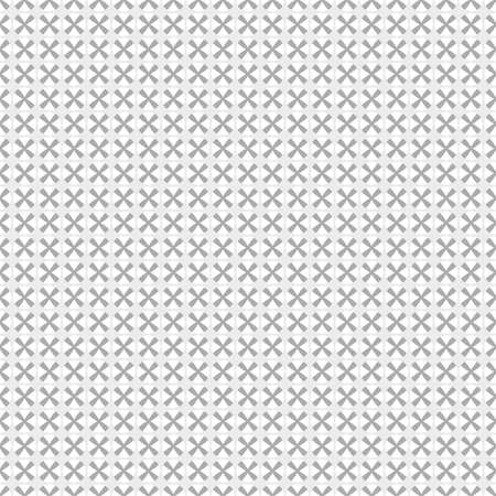 Gray geometric seamless pattern. Abstract webpage background. Vector Illustration