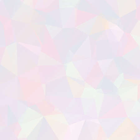 Abstract pastel mosaic background. Geometric pattern low poly style. Made using clipping mask