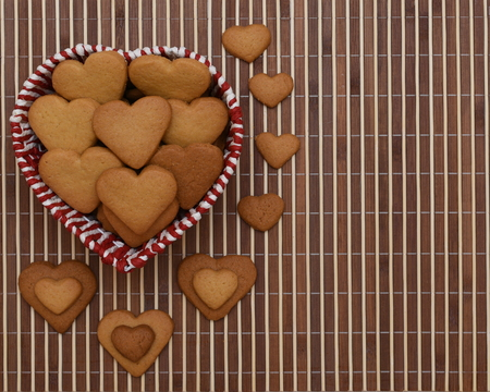 Heart shape cookies
