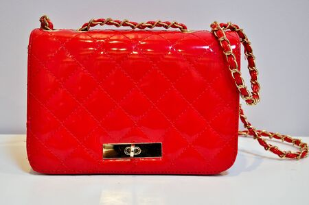 red women s handbags  photo