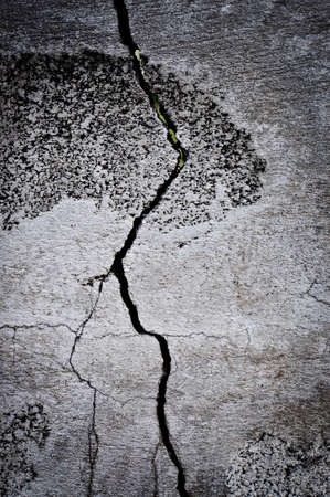 crack at the wall grunge background Stock Photo - 16424052