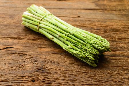 fresh asparagus photo