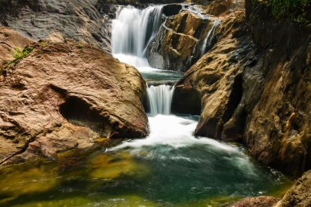 koh: Deep forest Waterfall in Koh Chang, Thailand