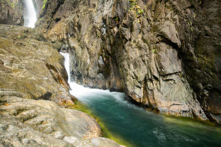 chang: Deep forest Waterfall in Koh Chang, Thailand