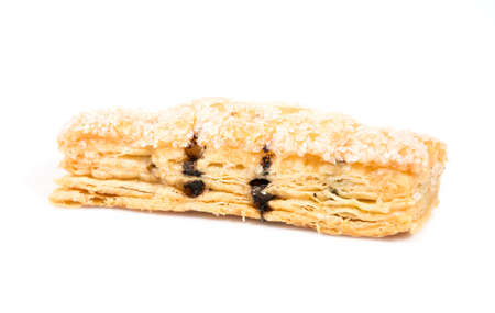 gorging: close up of Cookies puff pastry