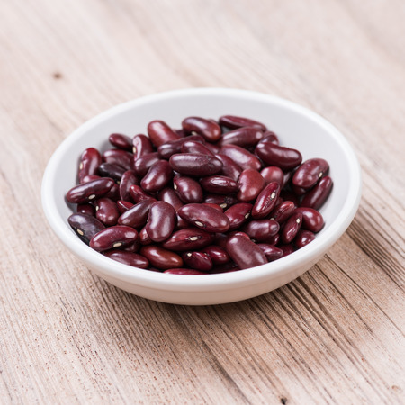 Kidney Beans in seramic bowl photo
