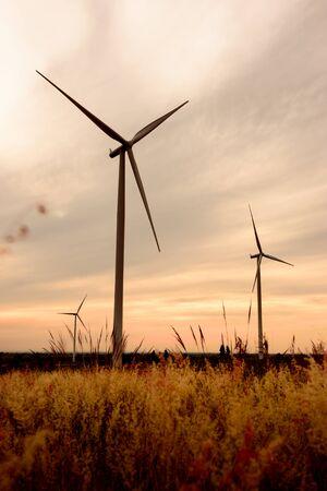 windturbine: beautiful landscape image with Windturbine farm