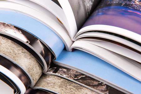 Pilha de revistas