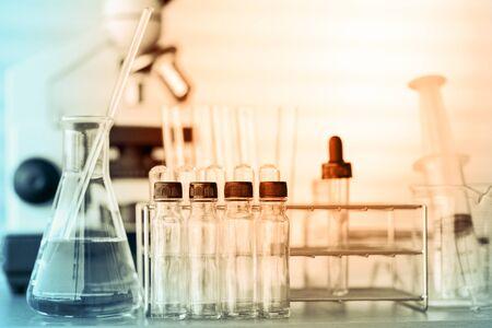 science scientific: Scientific equipment for science background