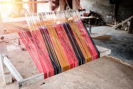 loom: Silk on the loom