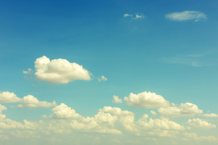 nebulosity: blue sky with white clouds