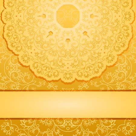 Elegant gold backgroundŒ 向量圖像