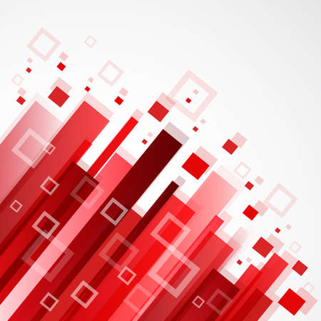 Digital red background