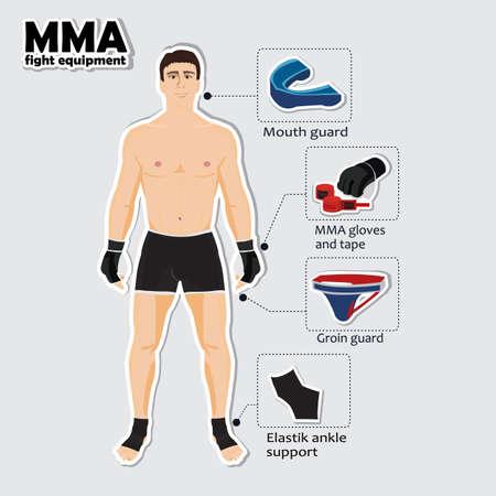 artes marciales mixtas: Utillaje y equipo para las artes marciales mixtas