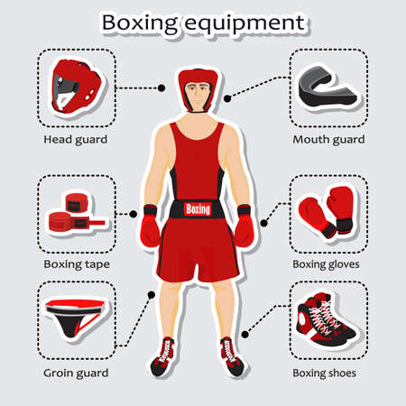 boxing equipment: Sport equipment for boxing martial arts