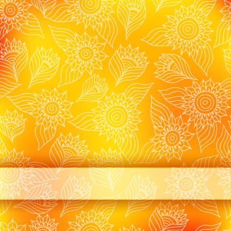 patrones de flores: Tarjeta de invitaci�n brillante con encajes ornamento Vectores