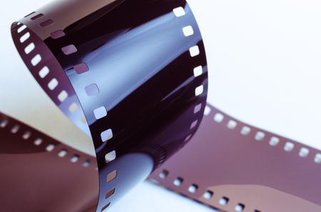 film on a white background Stok Fotoğraf