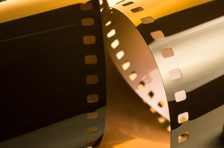 Film rings in yellow light