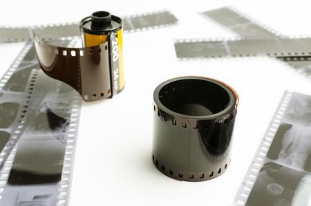 Roller photo film, negatives Reklamní fotografie