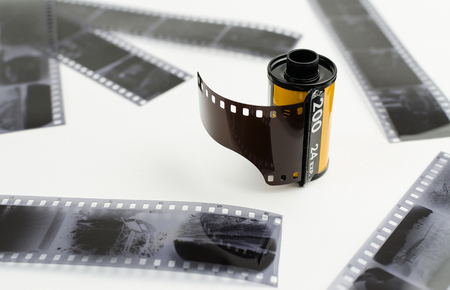 Roller photo film, negatives Stock fotó