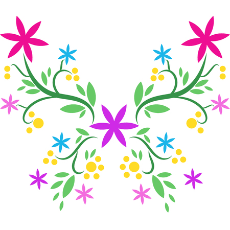 Beatiful butterfly vector Stock Vector - 105397367
