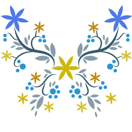 Beatiful butterfly vector Illustration