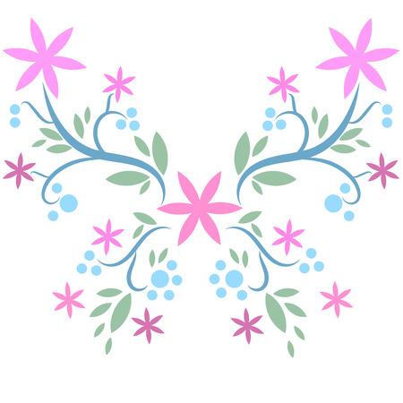 Beatiful butterfly vector Stock Vector - 105397375