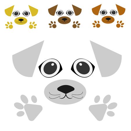 vector dog Stock Vector - 105397390