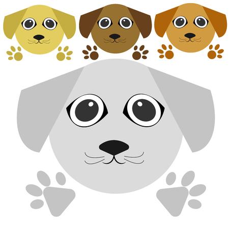 vector dog Stock Vector - 105397391