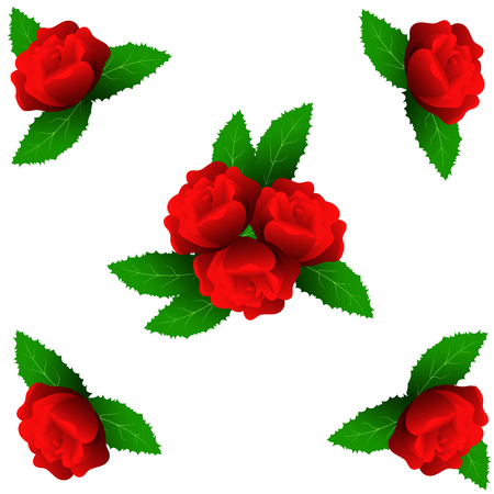 Roses Stock Vector - 105397393