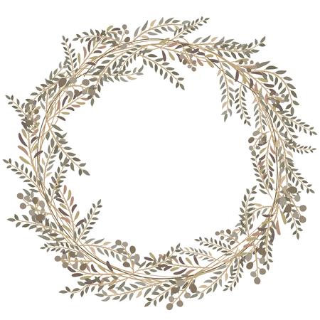 seamless leaves pattern Ilustrace