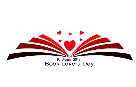 Book Lovers Stock Vector - 105675722