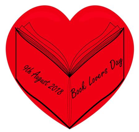 Book Lovers Stock Vector - 105675725