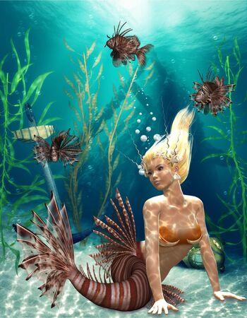 mermaid Stock Photo - 9106173