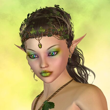 wood nymph: fairy