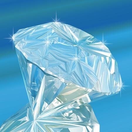a precious: diamond Stock Photo