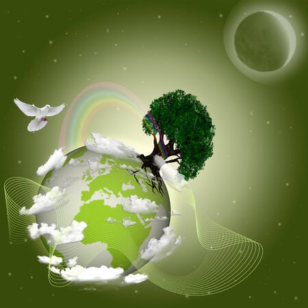 green earth Stock Photo - 9146034