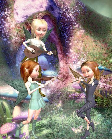 fairies: firytale Stock Photo