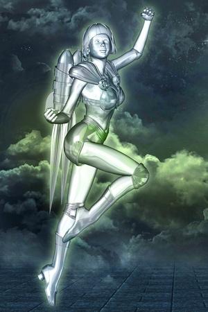 sci: mujer de espacio