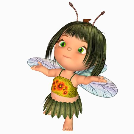 toon fairy Stock Photo